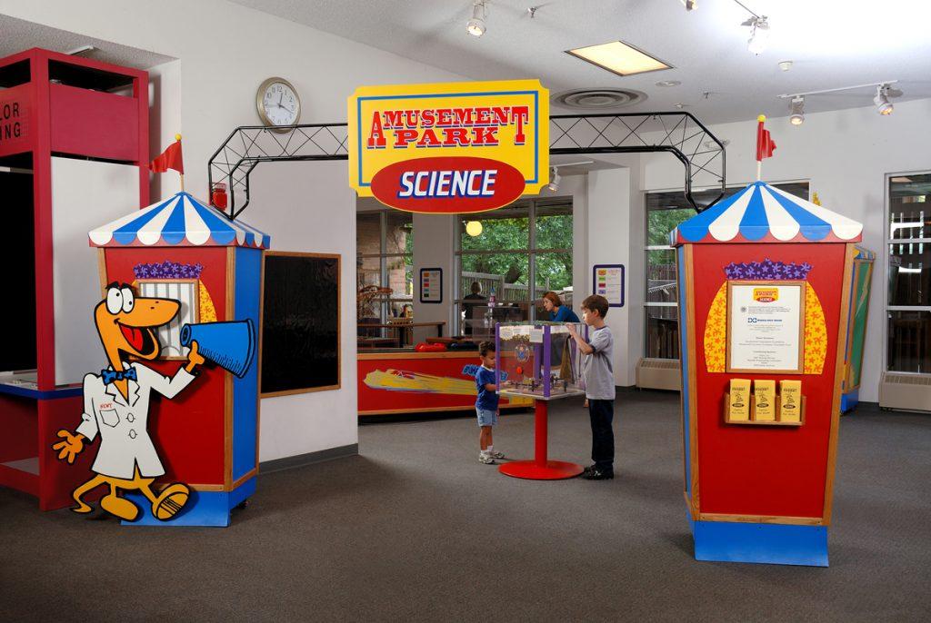 Image result for amusement park science exhibit