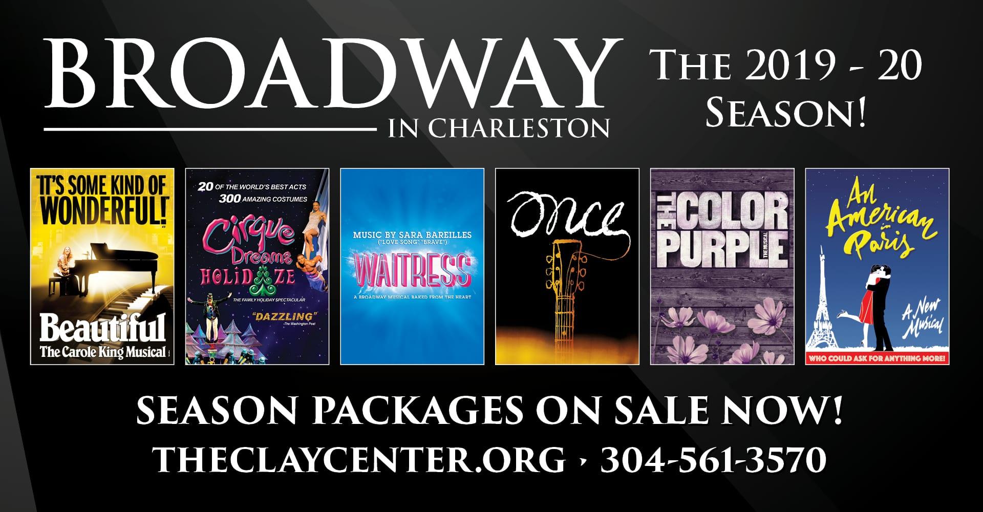 Broadway in Charleston - Clay Center